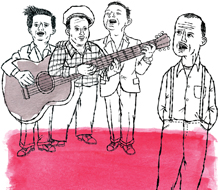 Woody Guthrie Illustration